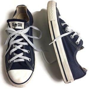 Converse Allstar Ox Navy Low Top Sneaker Size 3